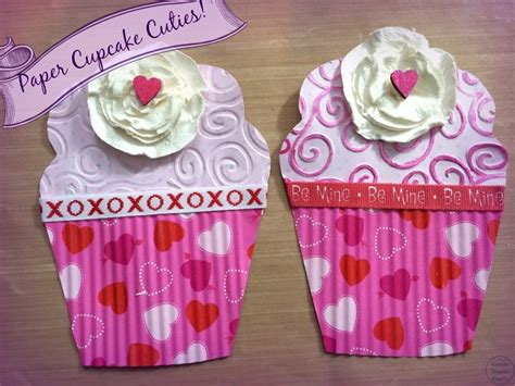 paper cupcake craft paper cupcake cuties canary crafts
