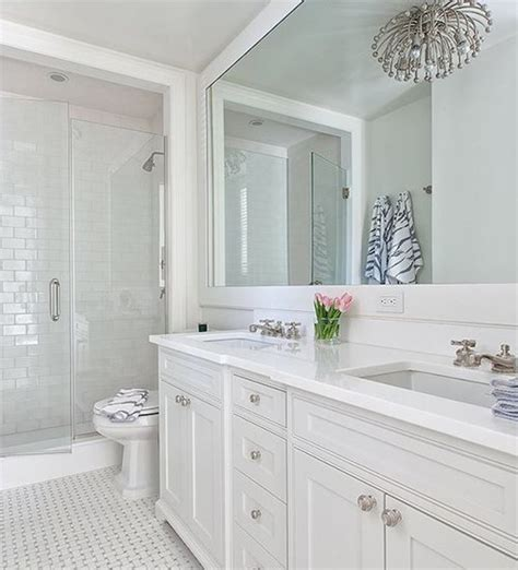 All White Bathroom Ideas by The Classic White Bathroom