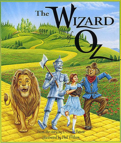 the wizard of oz picture book wizard of oz book cover by phil wilson favorite