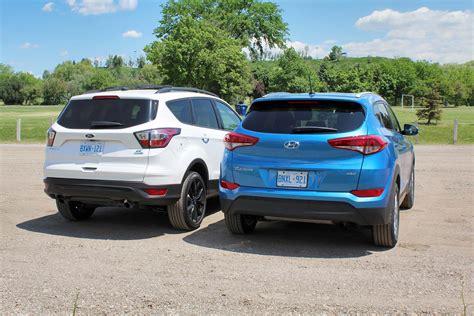 Ford Tucson hyundai tucson compared to ford escape
