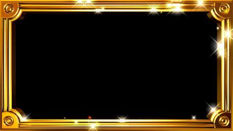 gold lights frame gold lights motion background free hd
