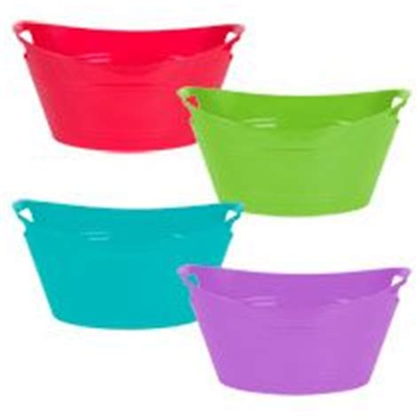 tree storage tub bathroom stuff bulk colorful plastic oval storage totes