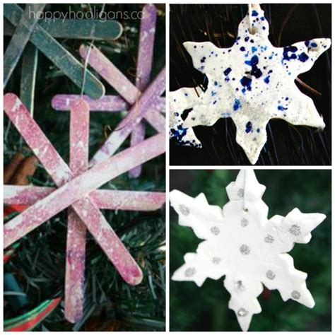 and crafts for ornaments 25 snowflake crafts activities and treats happy hooligans