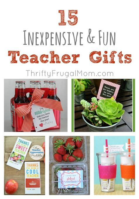 ideas for inexpensive 15 inexpensive gifts