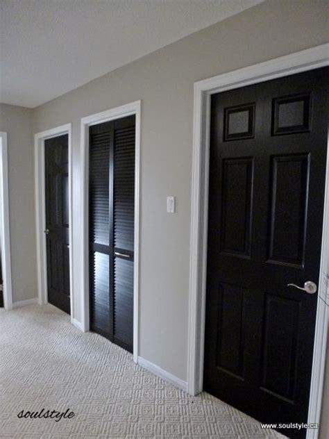 interior painted doors 17 best ideas about black interior doors on