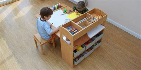 kid craft table with storage speaking as a parent the children s furniture