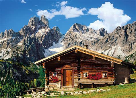 puzzle chalet de montagne autrichien clementoni 39297 1000 pi 232 ces puzzles montagnes planet