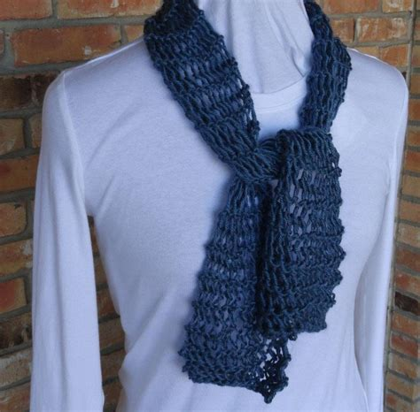 beginner knit scarf easy knit lace scarf by kimberleeg craftsy