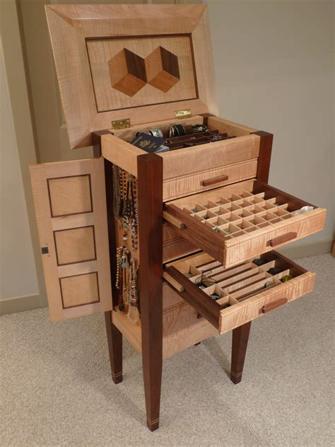 jewelry armoire plans woodworking book of jewelry chest woodworking plans in uk by liam