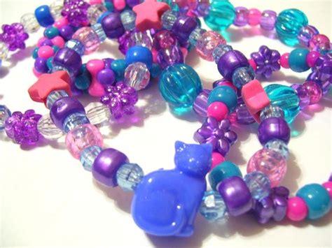 cool bead bracelets 5 cool blues pony bead bracelets