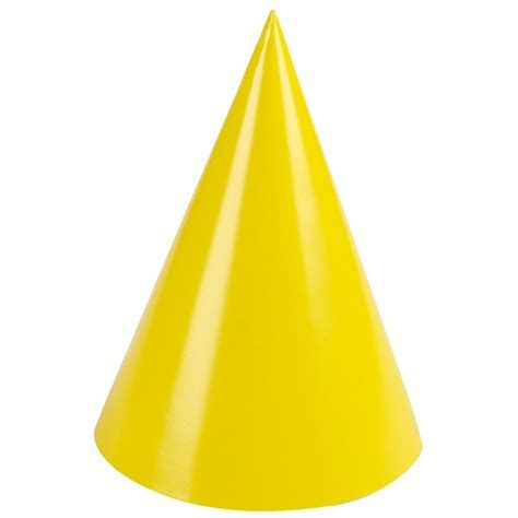 Birthday Party Supplies, Yellow Party Hats