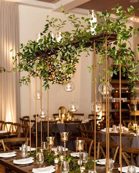 modern centerpieces best 25 hanging centerpiece ideas on hanging