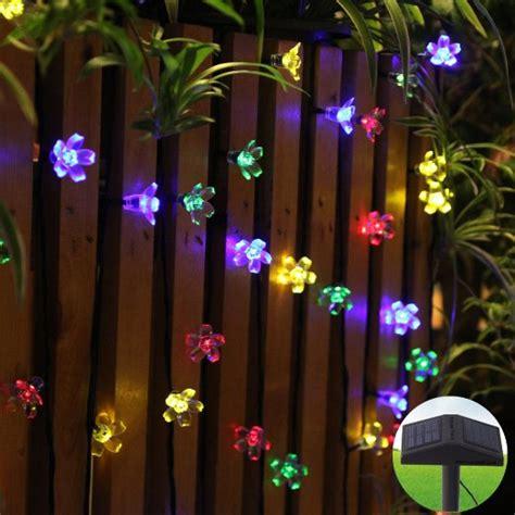 cheap outdoor string lights buy innoo tech led solar string lights outdoor 80