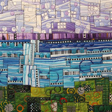 acrylic paint quilt paint stitch vibrant acrylic quilts with pasquini