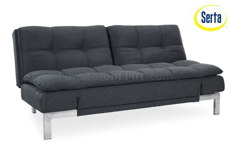 modern convertible sofas umber microfiber modern convertible sofa bed w steel legs