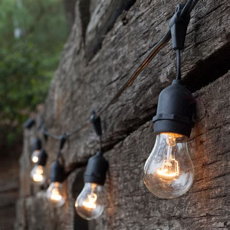 industrial outdoor string lights outdoor patio string lights 108 e26 commercial patio