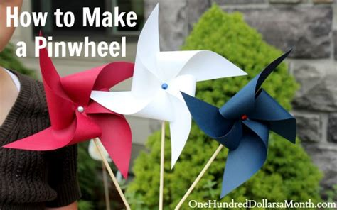 easy to make crafts for easy crafts for how to make a pinwheel one