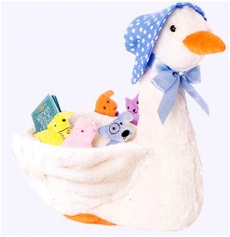 Opie Nursery Rhymes by Mother Goose Plush Storybook Character Toys