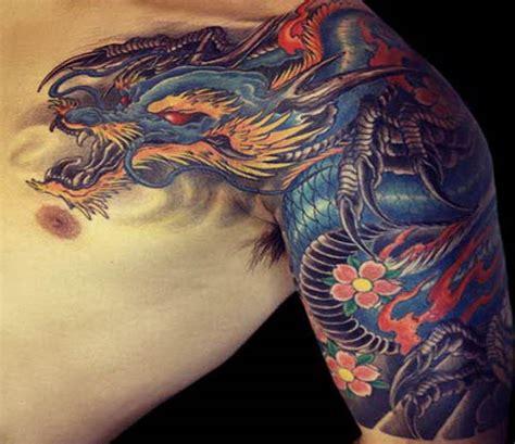 δράκοι ένα δημοφιλές θέμα για τατουάζ