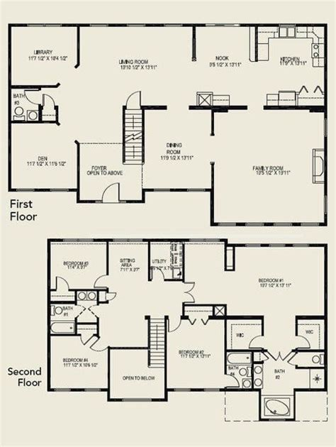 2 story house floor plans luxury 4 bedroom 2 story house floor plans new home plans design