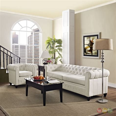 upholstered living room sets earl contemporary 2pc fabric upholstered living room set