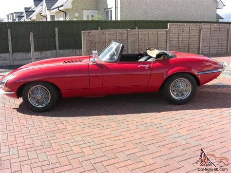 Top Kit Cars by E Type Jaguar Kit Car Soft Top Pillar Box Great
