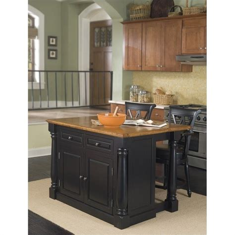 island for kitchen with stools kitchen island and bar stools 3 set 5008 94 88 3pc pkg