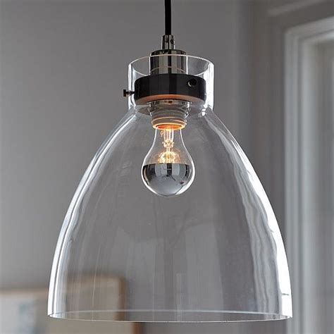 glass kitchen lighting minimalist glass pendant with an industrial design