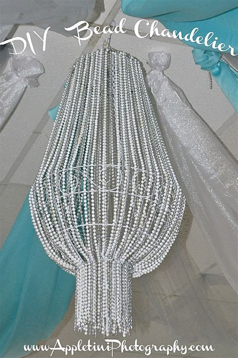 how to make a bead chandelier diy bead chandelier ideas for decorating on a budget