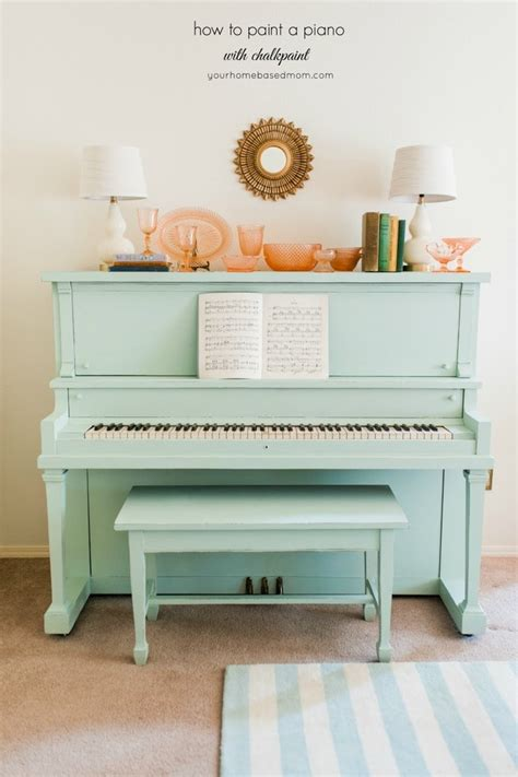 How To Paint A Piano With Chalkpaint Your Homebased