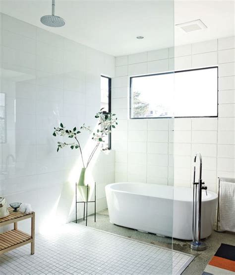 Large White Tiles For Bathroom by 24 Large White Bathroom Tiles Ideas And Pictures
