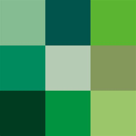 paint colors green shades file shades of green png wikimedia commons