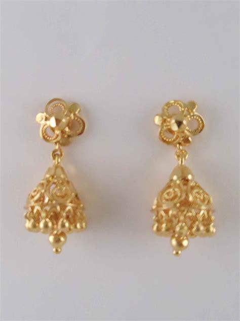 earrings design gold jhumka earrings designs 2013 6