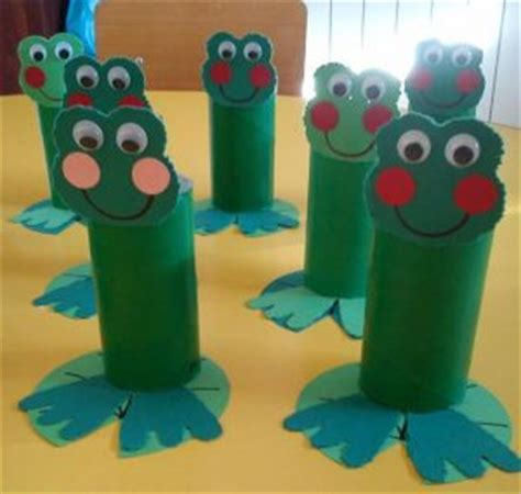 toilet paper roll crafts for preschoolers frog craft idea for crafts and worksheets for