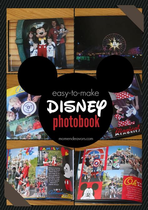 disney world picture book easy to make disney photo books with snapfish giveaway