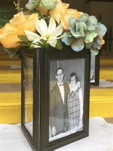 picture frame centerpiece 1000 ideas about dollar store centerpiece on