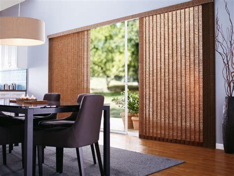 fabric vertical blinds for patio door patio door window treatment ideas featuring vertical