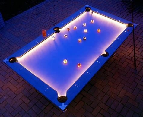 coolest lights outdoor pool table with lights coolest photos