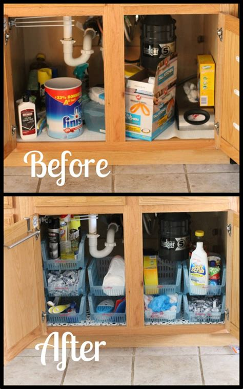 how to organize the kitchen sink sink cabinet organization i planners