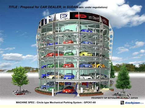 Parking Garage Floor Plan automated parking system eito amp global and mark 2 2010