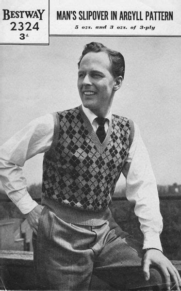 vintage knit vintage mens fair isle knitting patterns available from