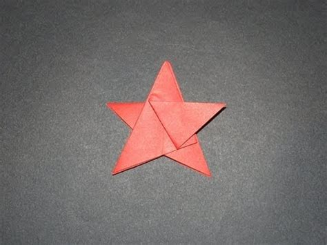 origami five pointed how to make an origami five pointed