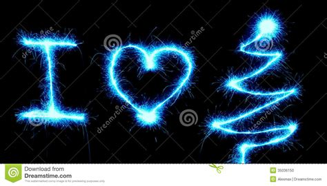 black light tree sparkler i stock photo image 35036150