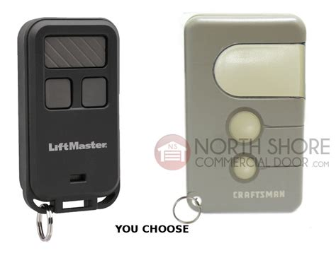 Garage Door Remote Controls Sears Craftsman Garage Door Opener Mini Remote 3