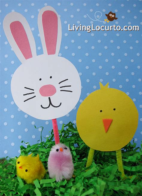 simple easter crafts for easter crafts for paper bunny holder