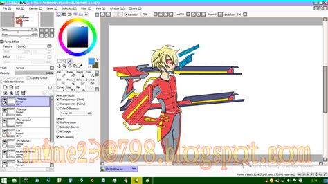 paint tool sai adalah cara mewarnai anime di paint tool sai mudah untuk pemula