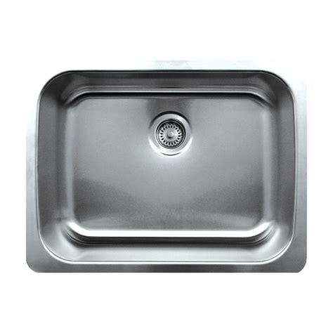 brushed stainless steel kitchen sinks whitehaus collection noah s collection undermount brushed