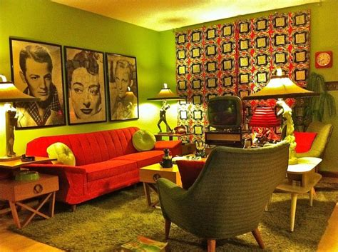 retro home interiors 68 best images about 1950s living room on
