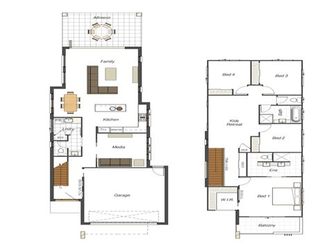 house floor plans for narrow lots bloombety small lot house floor plans narrow lot small