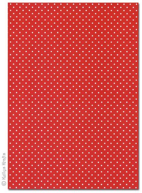 patterned craft paper uk a4 patterned card polkadots white spots on 1 sheet